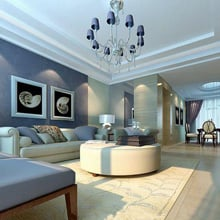 & Living Room Color Ideas - The Best Paint Colors for Living Rooms