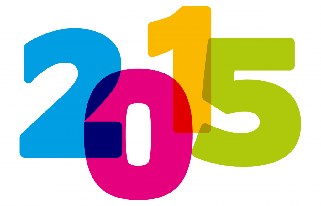 2015 colored numbers