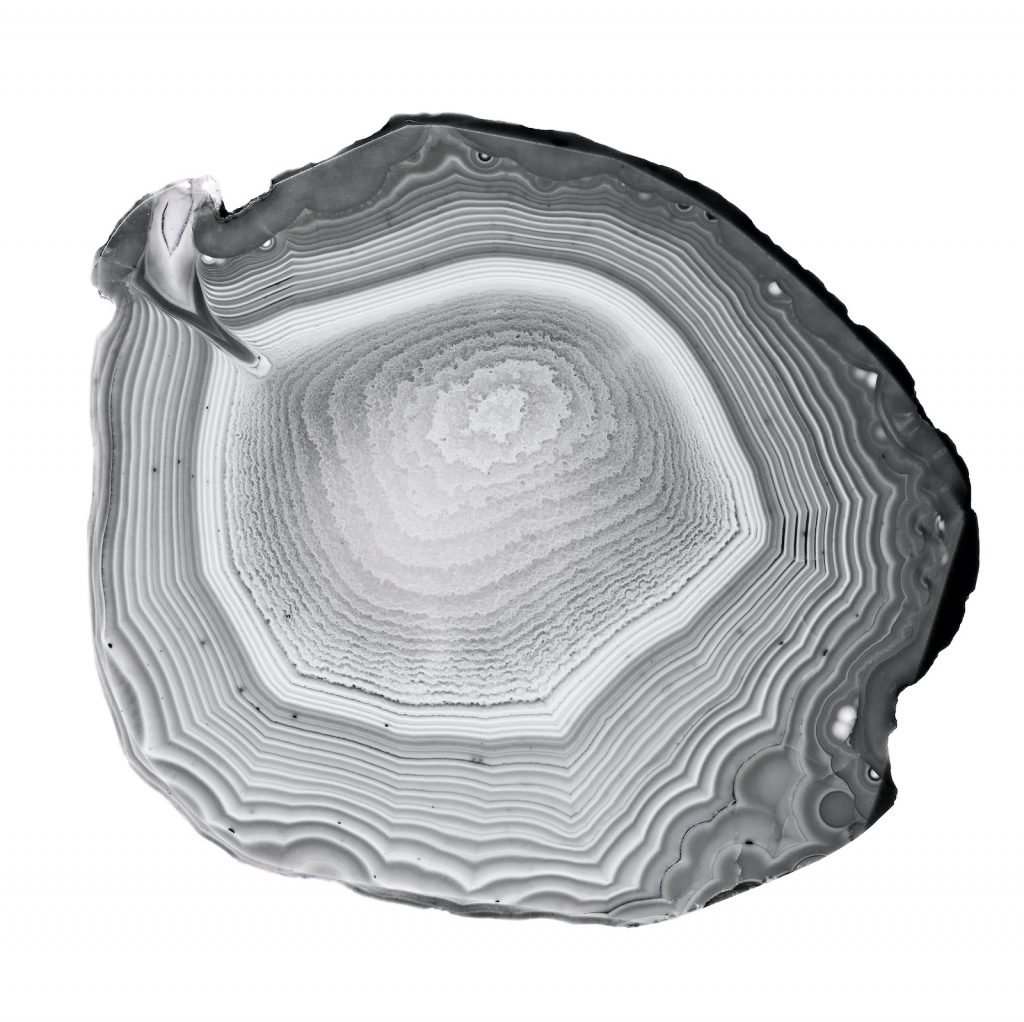 Gray agate has a stunning ghostlike quality that makes it a great choice for understated jewelry.