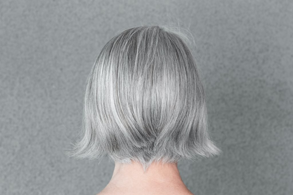 Some people believe that hair turns gray due to stress, but that isn't the case.