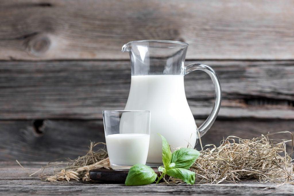 What makes milk white?