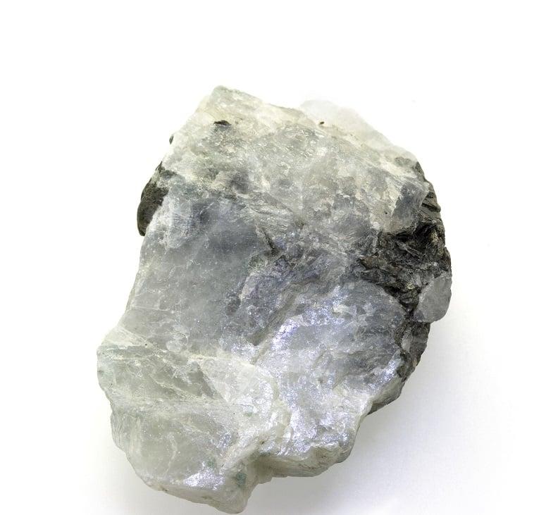 Single Moonstone crystal