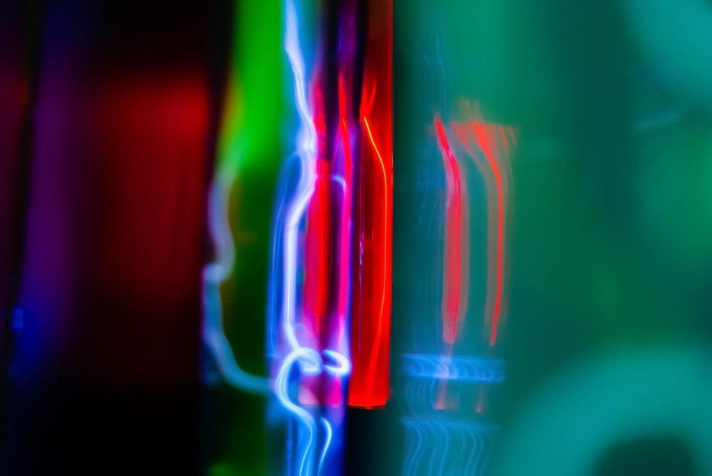 Noble gas colors