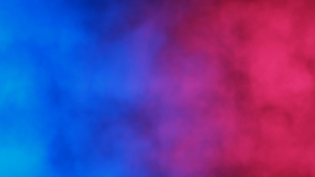 Red and blue colors mixed together