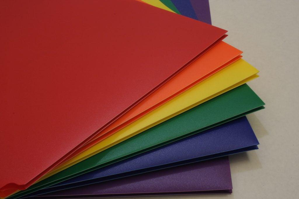School folder colors