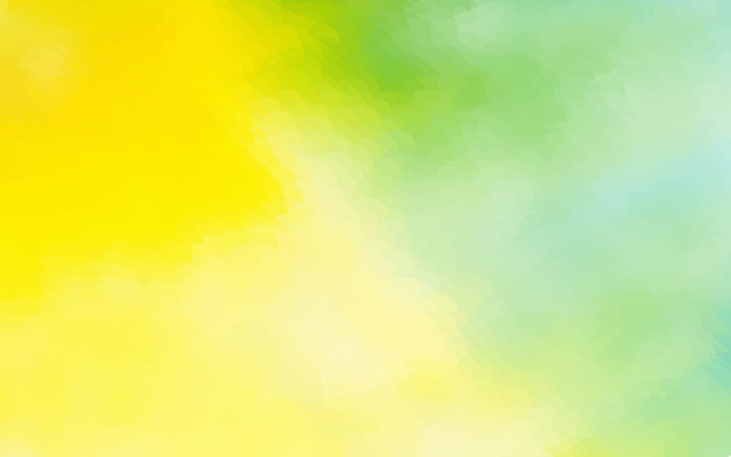 Yellow and green mixture