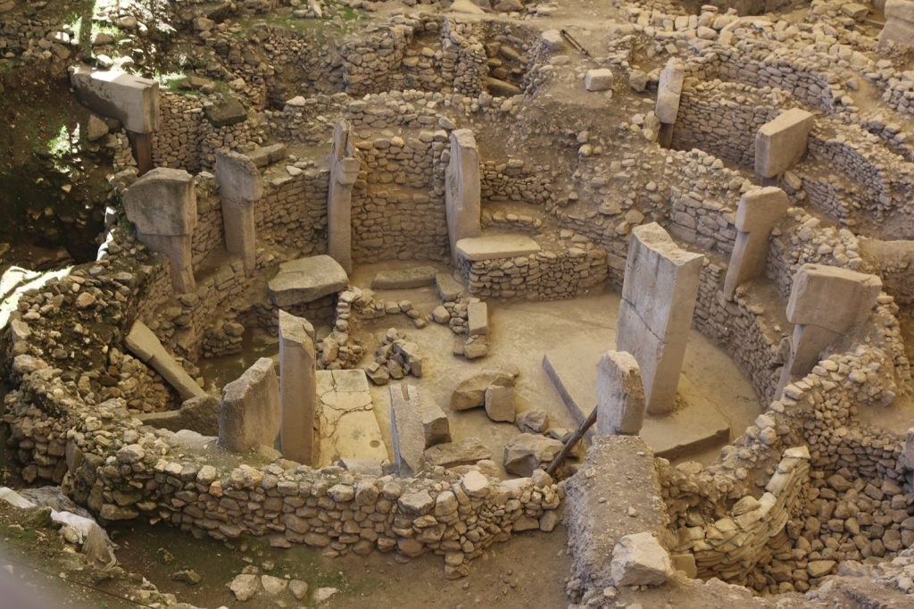 Turkish archaeological site of Gobekli Tepe, the oldest temple in history