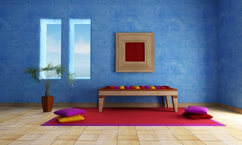 Best colors for your meditation room - Small meditation room ideas ...