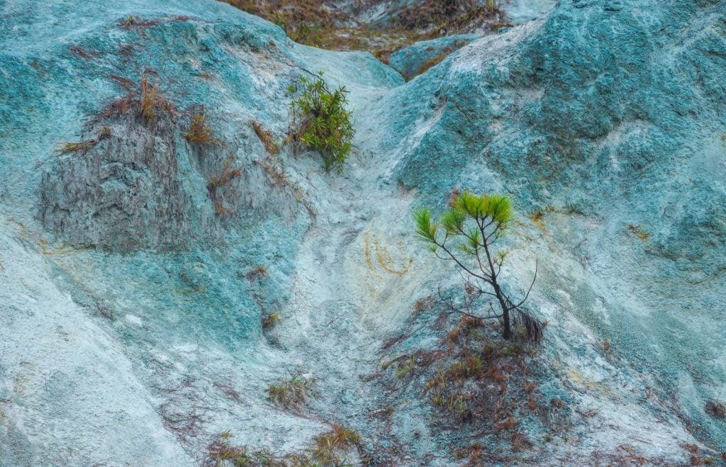 Blue soil hills of Sagada