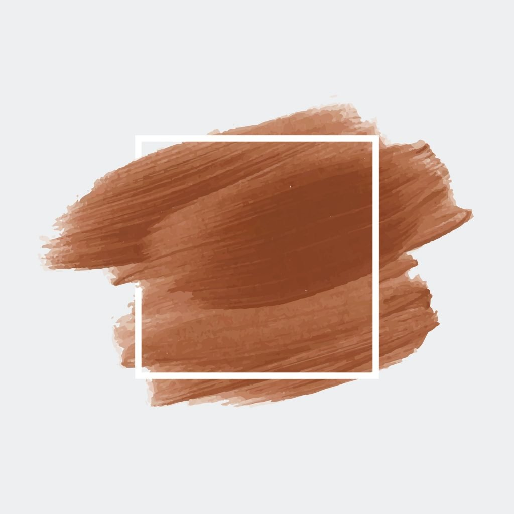 Shades of brown brush strokes