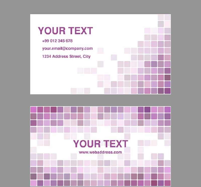 business-card-in-white-with-purple-text
