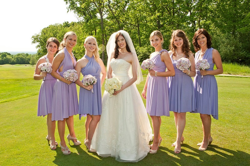 beautiful wedding color palette