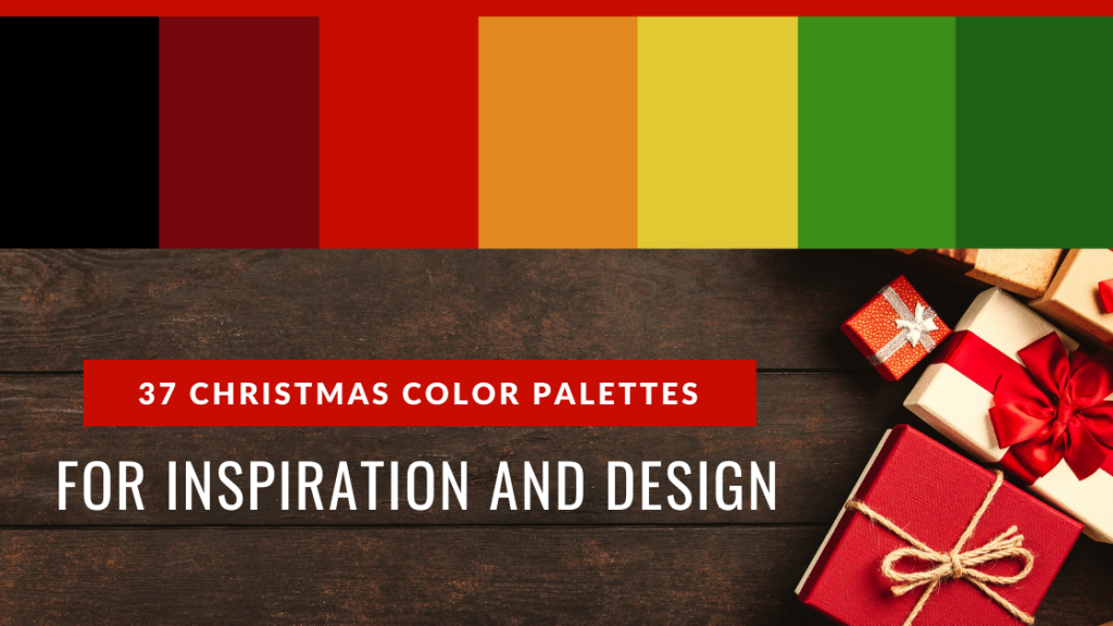 Christmas Color Palettes for Inspiration and Design