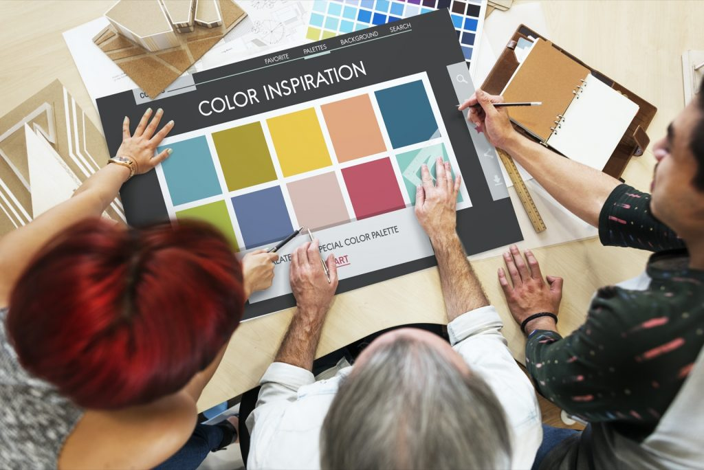 Color inspiration for choosing the right product backdrops