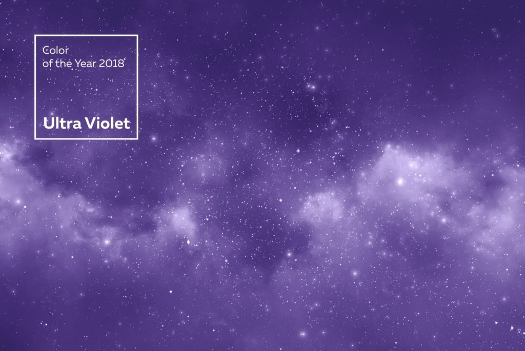 Color of the Year 2018 Ultra Violet from Pantone