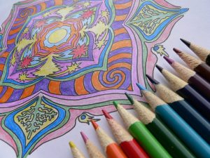 coloring therapy for adults mandalas