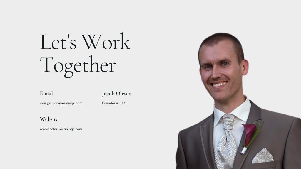 Jacob Olesen Business Card