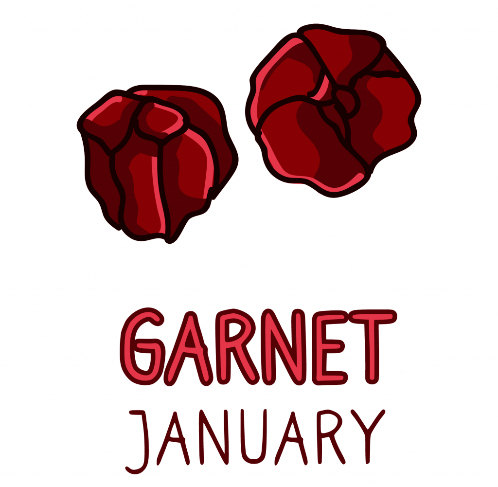 January Birthstone: Garnet Gemstone Meaning