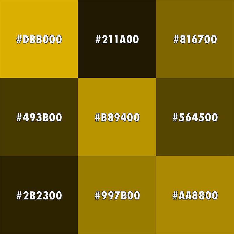 Gold shades