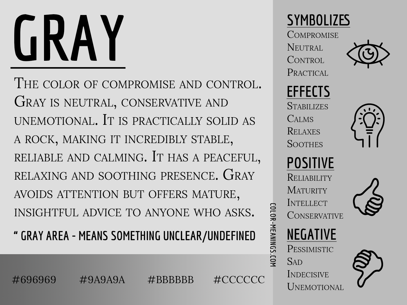 gray color meaning the color gray symbolizes compromise and control gray color meaning the color gray
