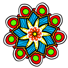 healing mandala coloring pages