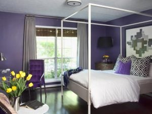 how to use ultra violet in interior design