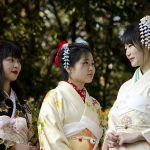kimono color meanings in Japan
