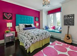 magenta bright colored room