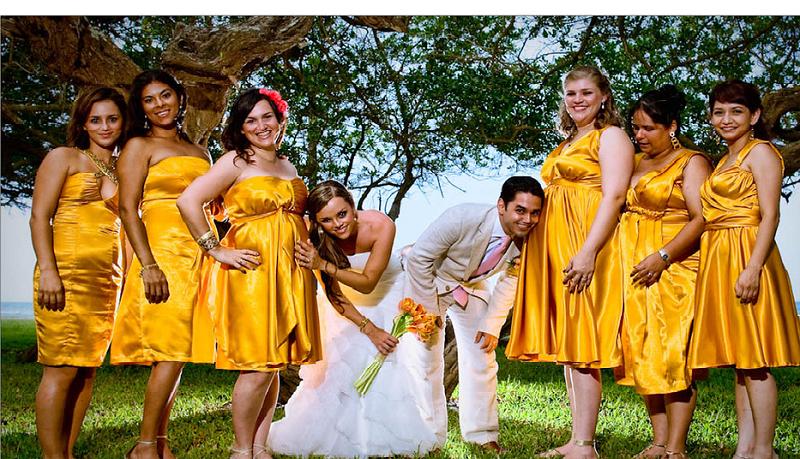 orange gold leo brides wedding palette