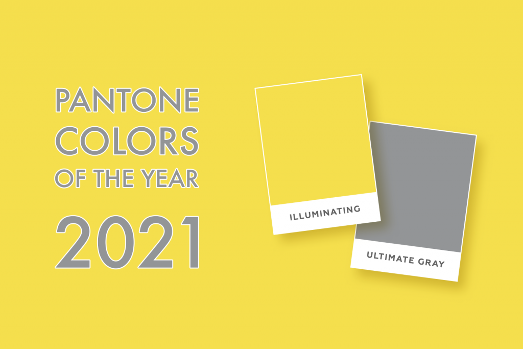 Pantone Colors of the Year for 2021: Ultimate Gray and Illuminating