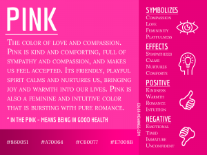 Pink Color Meaning Infographic