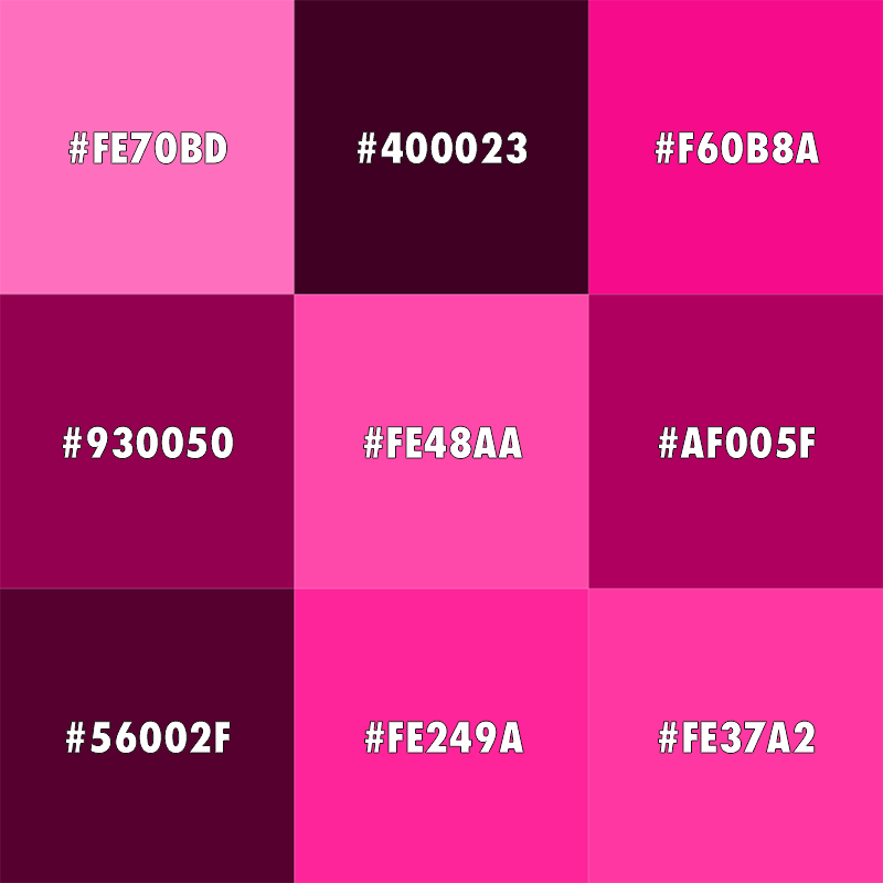 c4fc9fb1b50 Pink shades. Pink shades. Skin color is ...