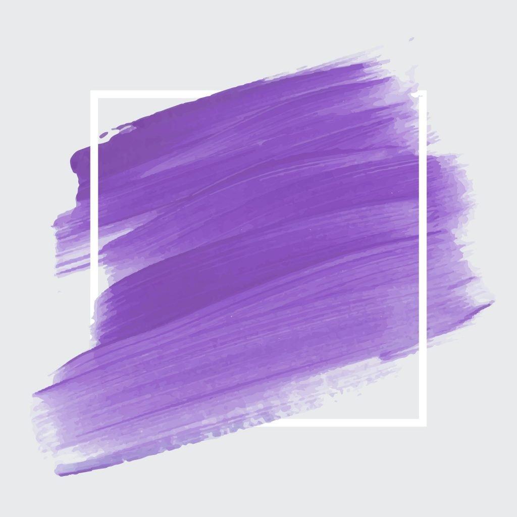 Shades of purple brush strokes