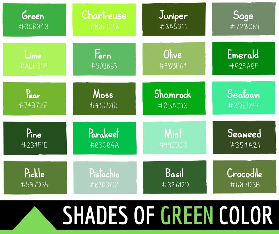 green color hex