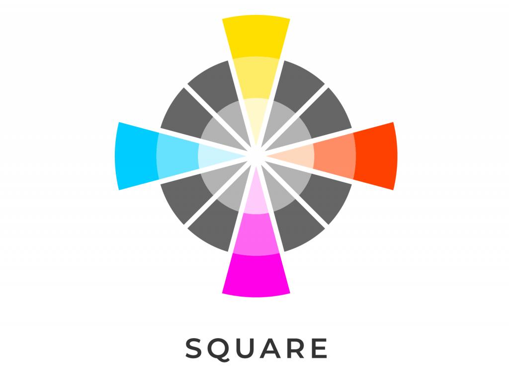 Square color scheme