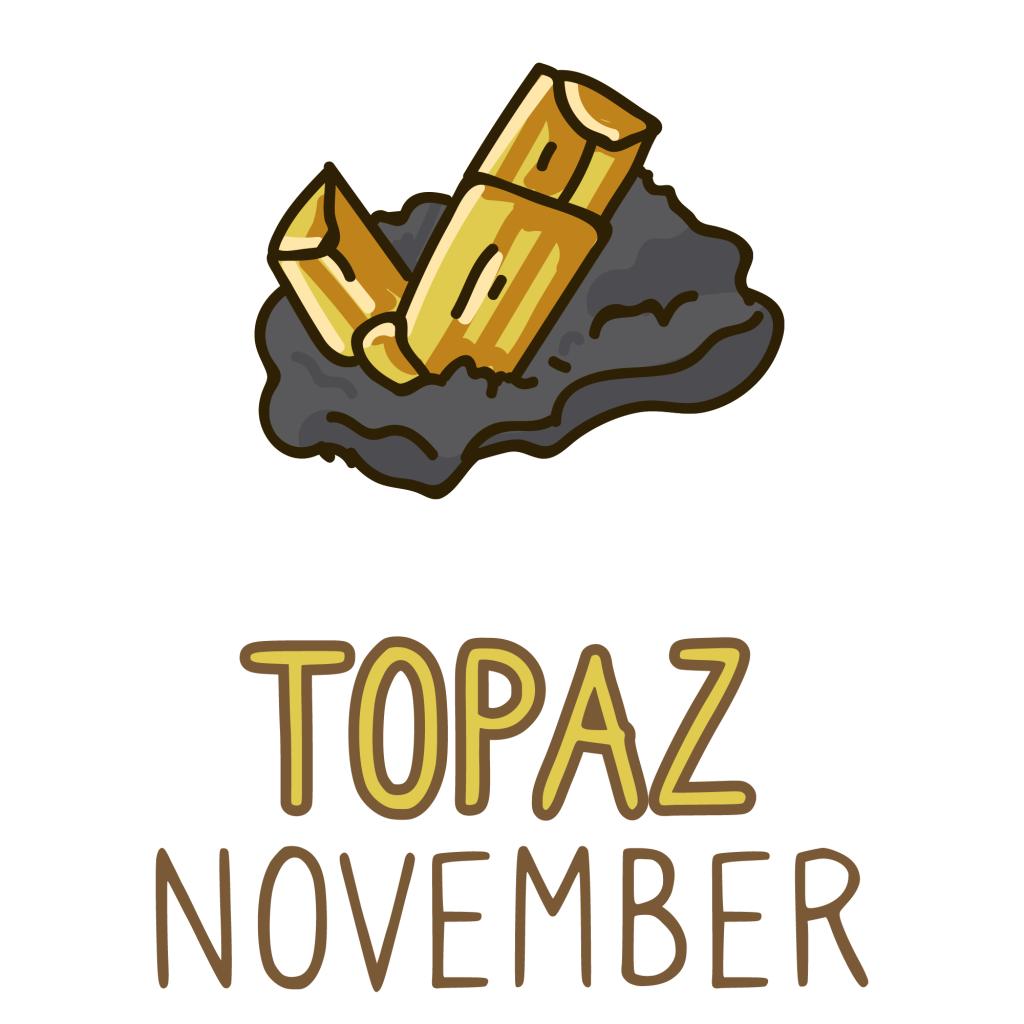 November Birthstones: Topaz and Citrine Gemstone Meaning